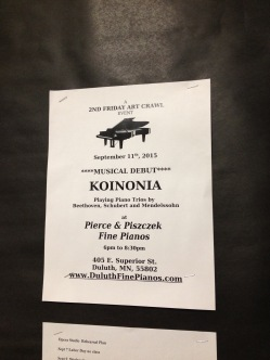 Koinonia at Art Crawl